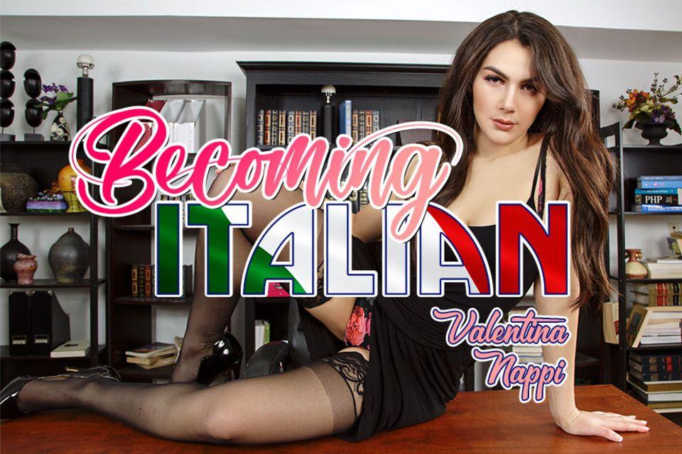 Becoming Italian with Valentina Nappi – BaDoinkVR