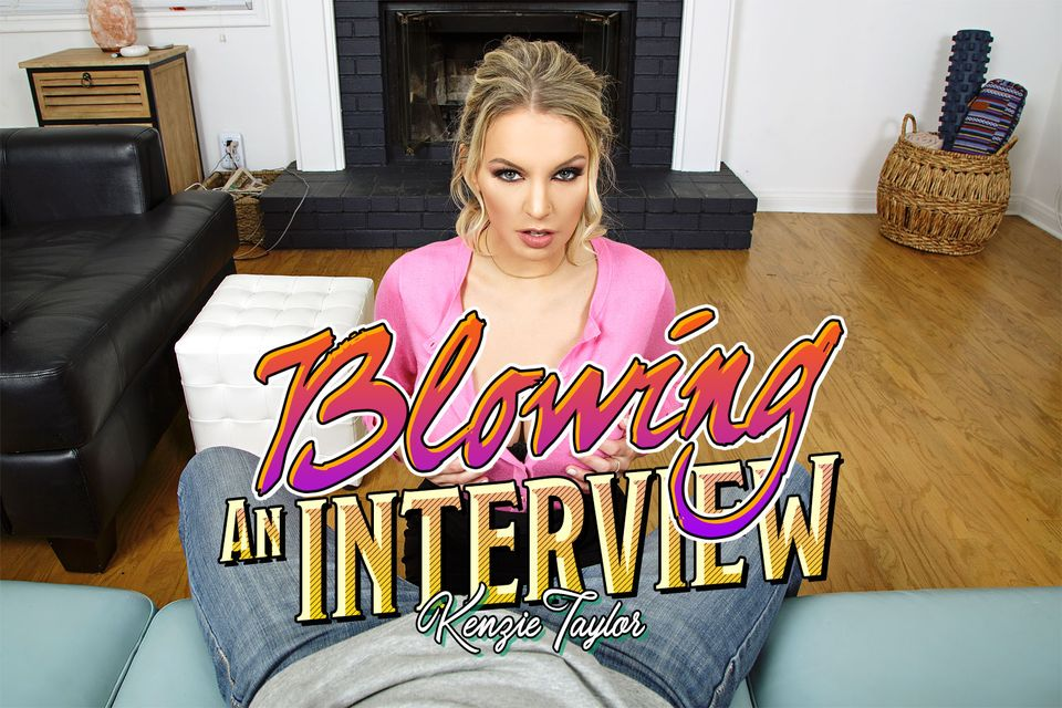 Blowing An Interview with Kenzie Taylor – BaDoinkVR