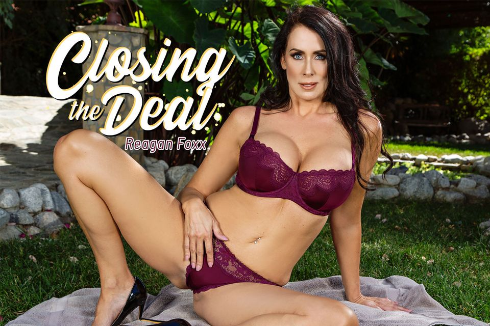 Closing The Deal with Reagan Foxx – BaDoinkVR