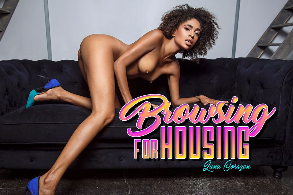 Browsing For Housing with Luna Corazon – BaDoinkVR