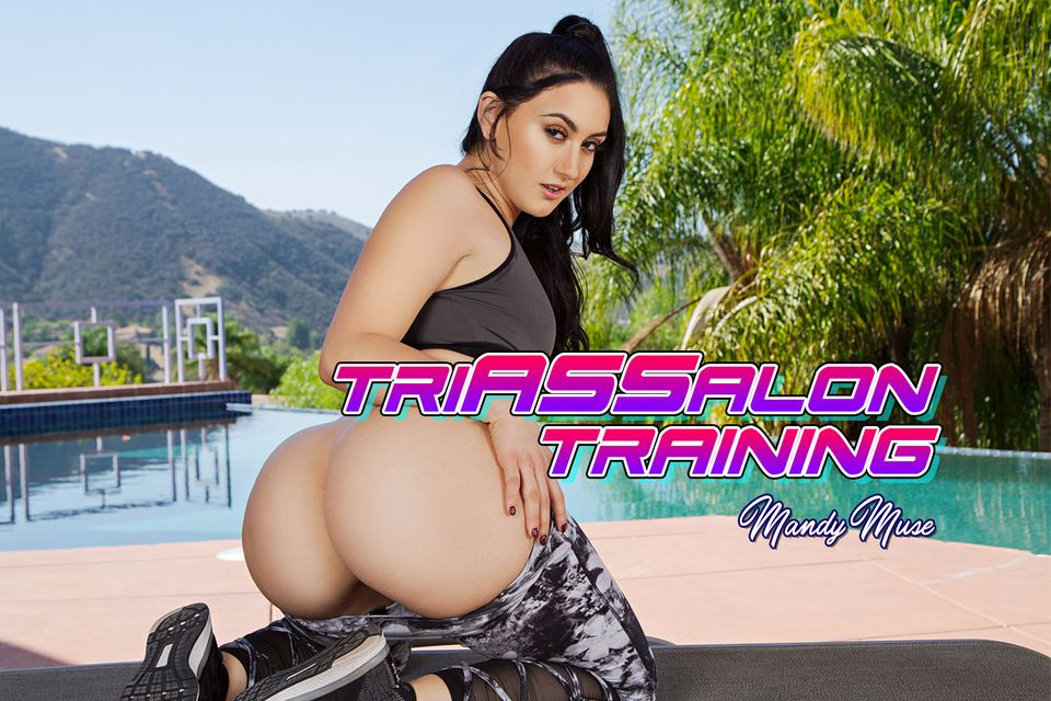Triassalon Training with Mandy Muse – BaDoinkVR