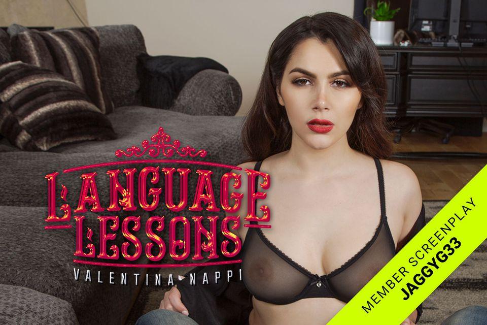 Language Lessons with Valentina Nappi – BaDoinkVR