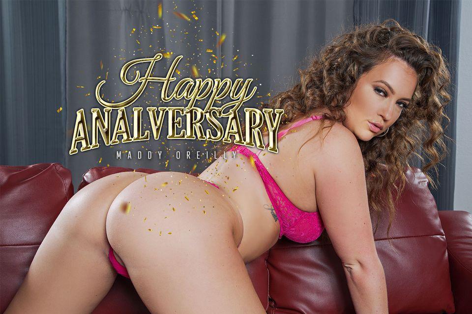 Happy Analversary with Maddy O'Reilly – BaDoinkVR