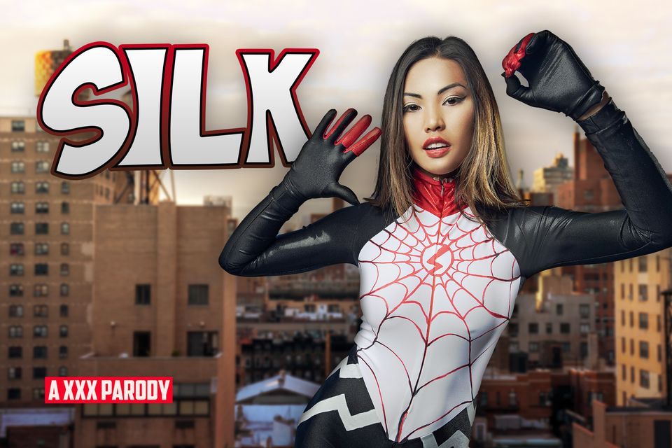 Silk A XXX Parody with Polly Pons – VRCosplayX