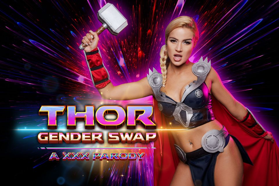 Thor Gender Swap with Cherry Kiss – VRCosplayX