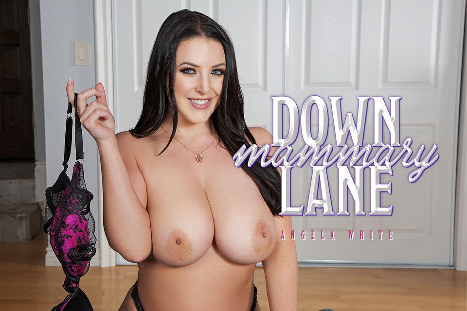 Down Mammary Lane with Angela White – BaDoinkVR