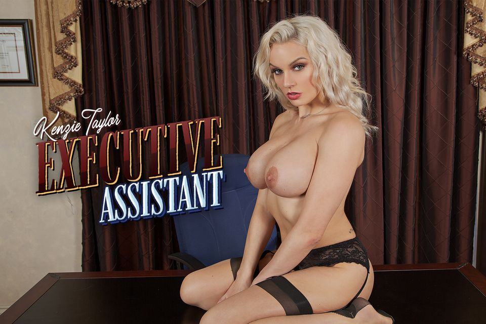 Sexecutive Assistant with Kenzie Taylor – BaDoinkVR