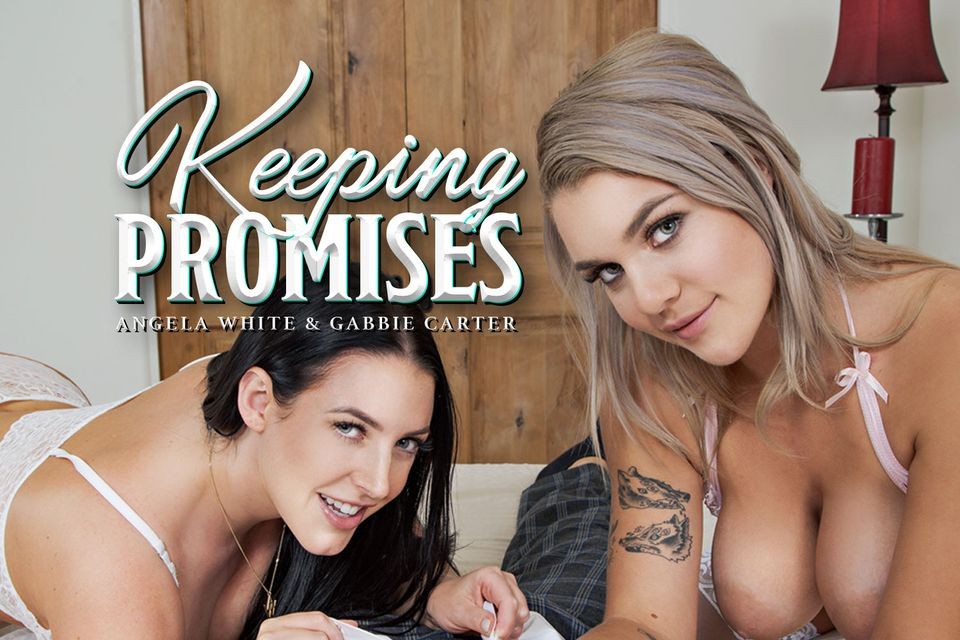 Keeping Promises with Angela White and Gabbie Carter – BaDoinkVR