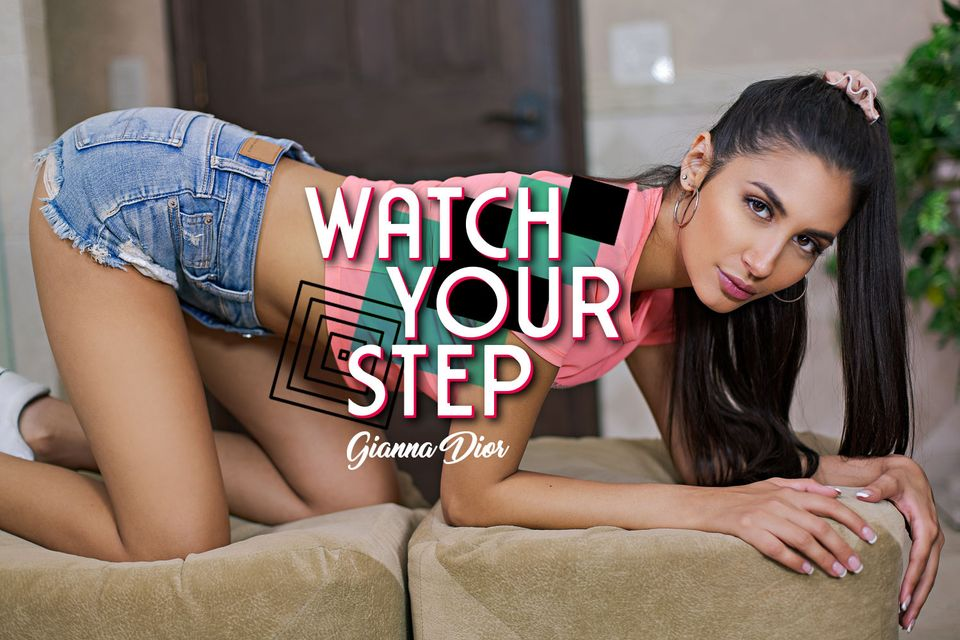 Watch Your Step with Gianna Dior – BaDoinkVR
