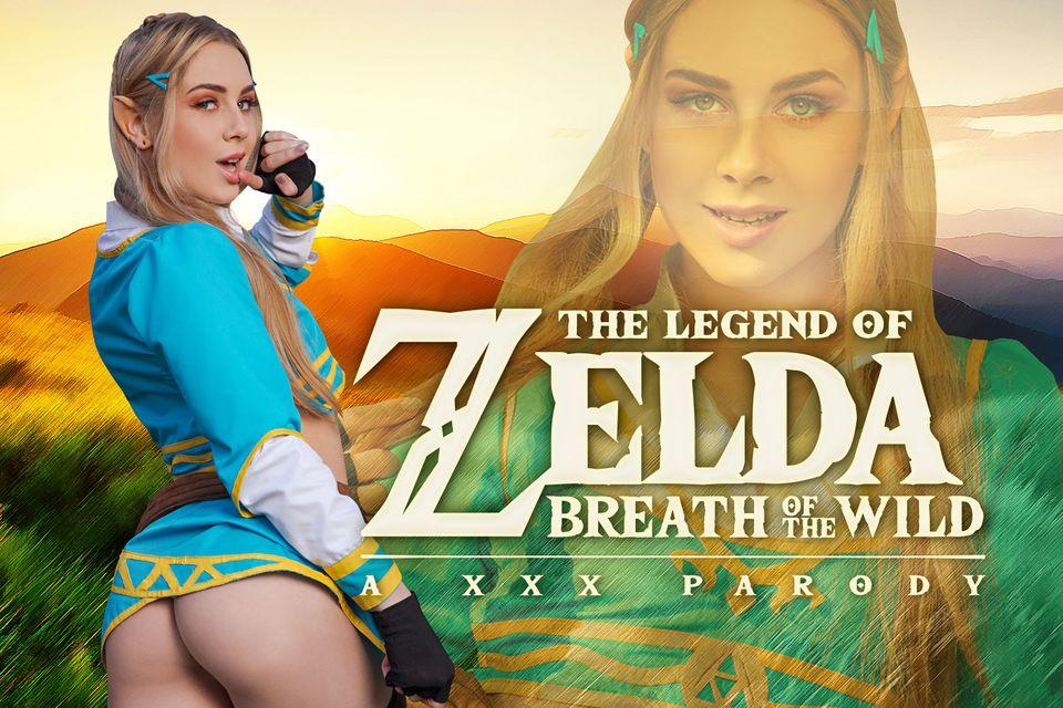 Zelda: Breath of the Wild A XXX Parody with Alecia Fox – VRCosplayX