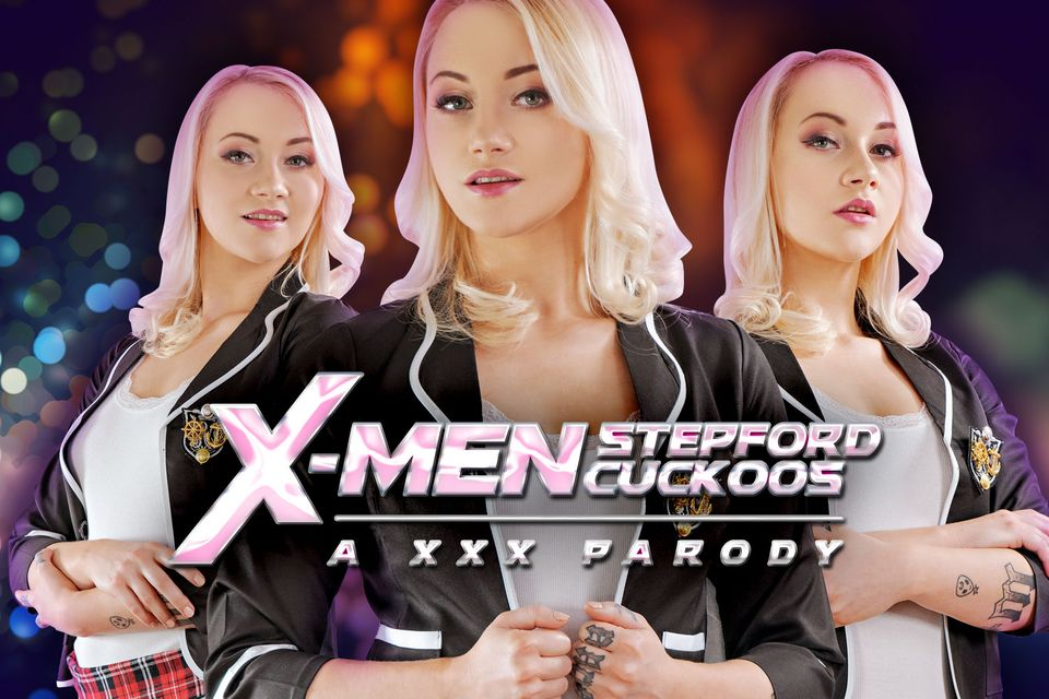 Xmen: Stepford Cuckoos A XXX Parody with Marilyn Sugar – VRCosplayX