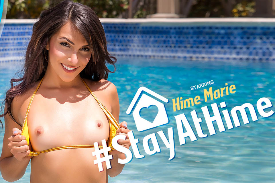 #StayAtHime with Hime Marie – VRBangers