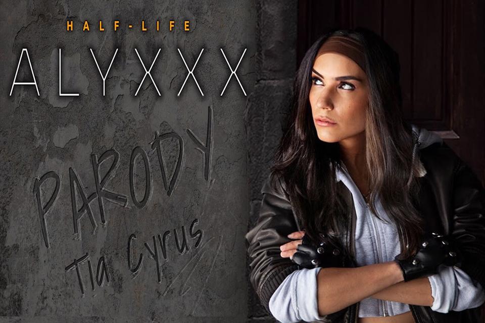 Half-Life AlyXXX Parody with Tia Cyrus – SexLikeReal