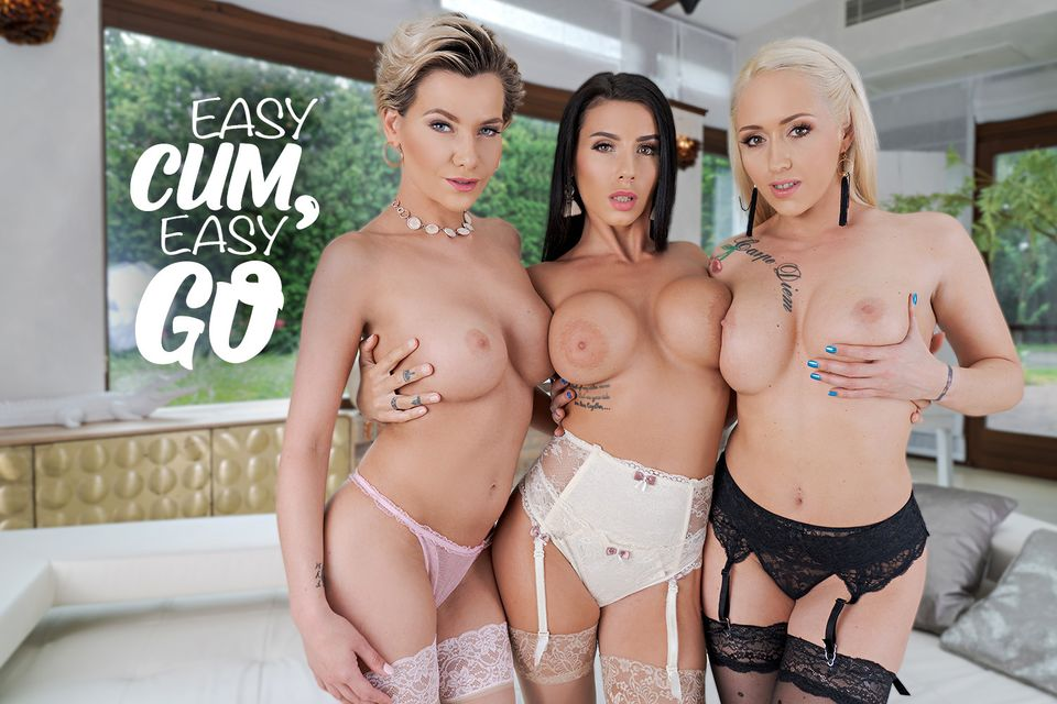 Easy Cum, Easy Go with Subil Arch, Nelly Kent, Christina Shine – BaDoinkVR