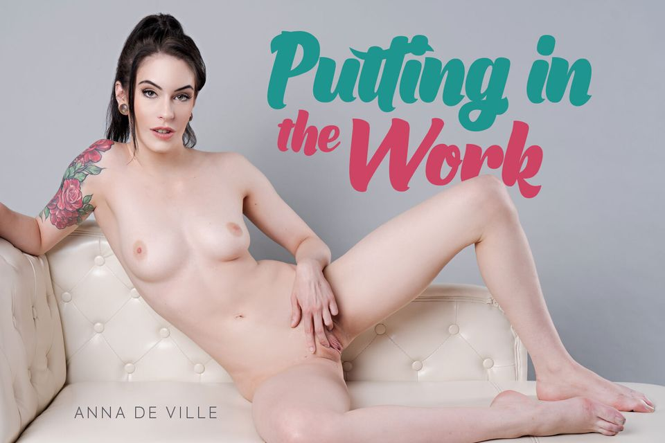 Putting In The Work with Anna De Ville – BaDoinkVR