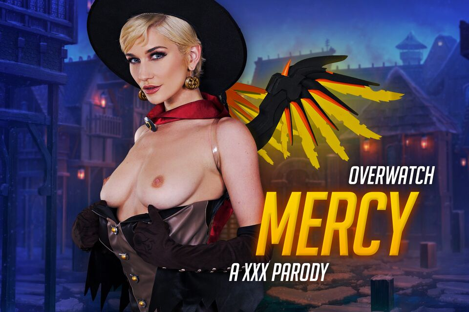 Overwatch: Mercy A XXX Parody with Skye Blue – VRCosplayX