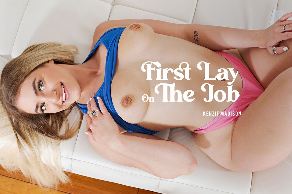 First Lay On The Job with Kenzie Madison – BaDoinkVR