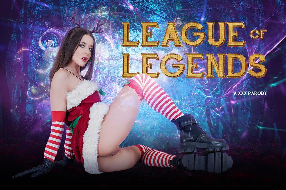 League of Legends: Katarina A XXX Parody with Sybil A – VRCosplayX