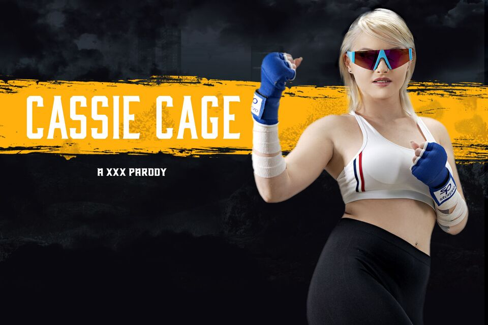 Mortal Kombat: Cassie Cage A XXX Parody with Zazie Skymm – VRCosplayX