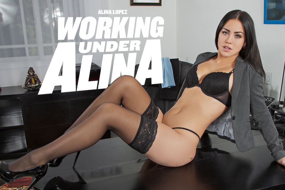Working Under Alina with Alina Lopez – BaDoinkVR