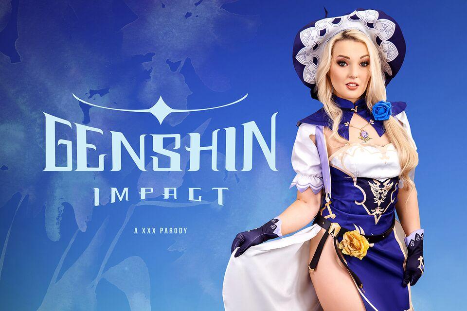 Genshin Impact A XXX Parody with Lovita Fate – VRCosplayX