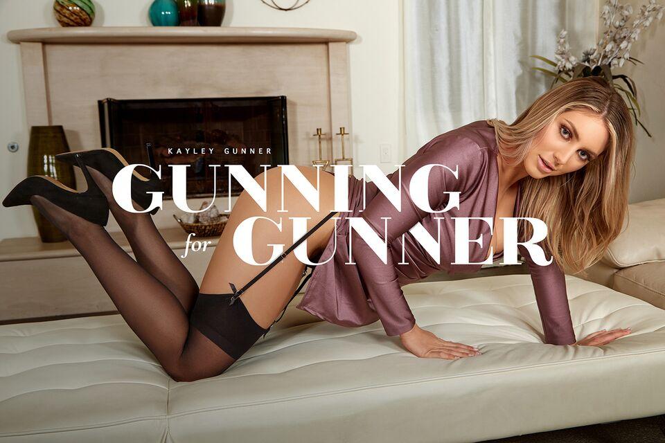 Gunning For Gunner with Kayley Gunner – BaDoinkVR