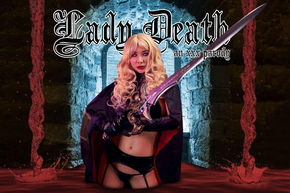 Lady Death A XXX Parody with Polina Maxim – VRCosplayX