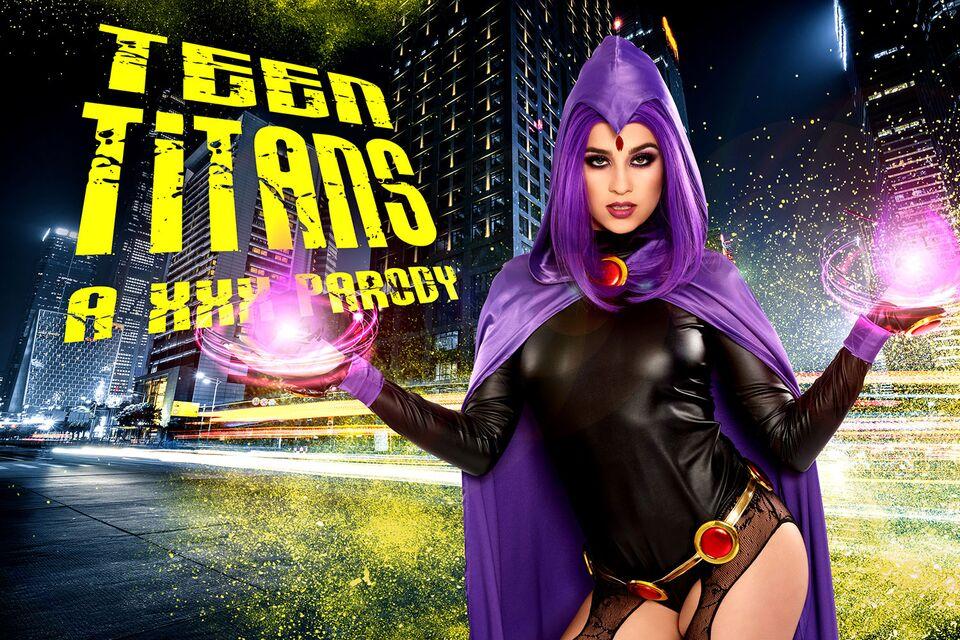 Teen Titans A XXX Parody with Kylie Rocket – VRCosplayX