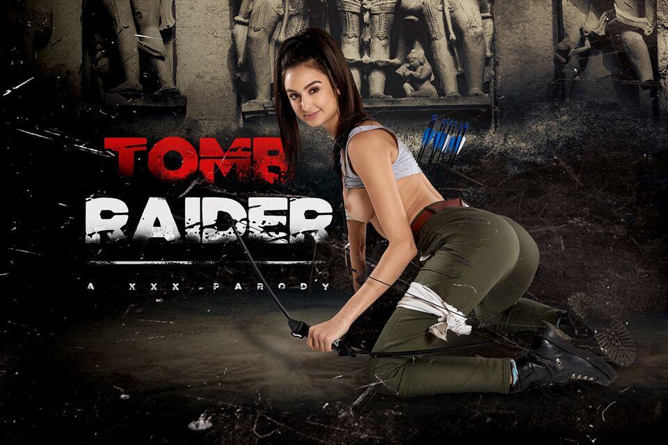 Tomb Raider A XXX Parody with Eliza Ibarra – VRCosplayX