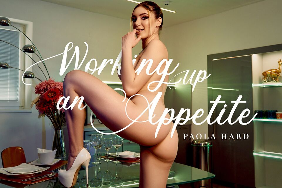 Working Up An Appetite with Paola Hard – BaDoinkVR