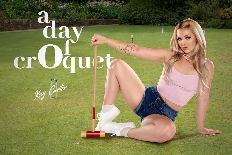 A Day Of Croquet with Kay Carter – BaDoinkVR