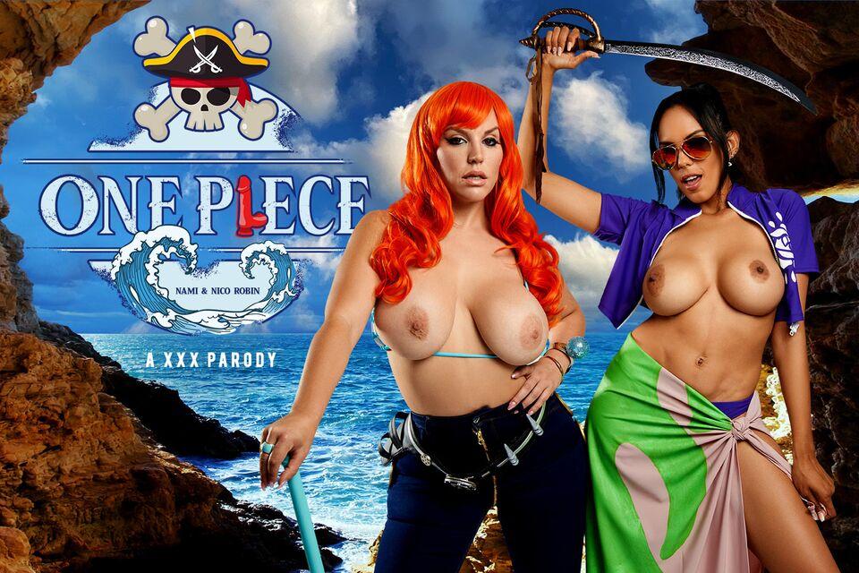 ONE PIECE: Nami and Nico Robin A XXX Parody with Blondie Fesser & Katrina Moreno – VRCosplayX