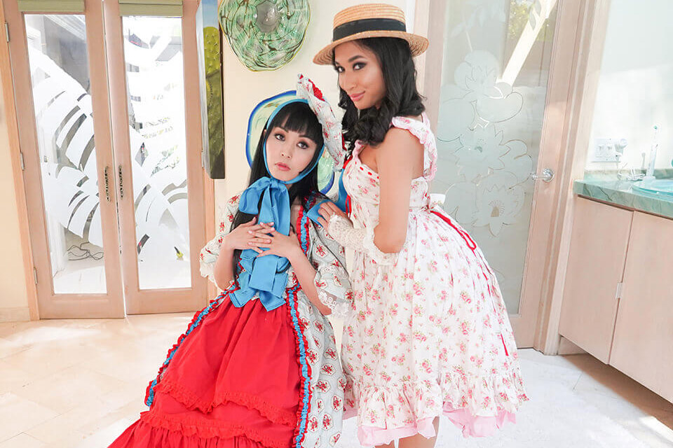 Time Stops Japanese Lolitas with Marica Hase & Avery Black – SexLikeReal